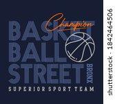basketball street ... | Shutterstock .eps vector #1842464506