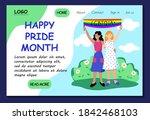 happy pride month. lgbt website ...