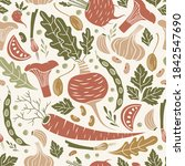 seamless pattern with...   Shutterstock .eps vector #1842547690