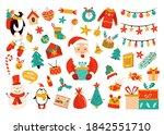 Holiday Set With Santa Claus ...