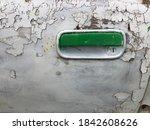 Green Car Door Opener On A...