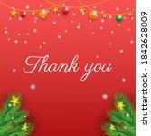 Thank You Card Vector Deign....