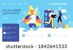 online shopping website design...