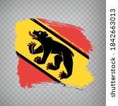 flag of bern brush strokes....