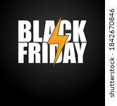 black friday announcement... | Shutterstock .eps vector #1842670846