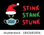 2020 stink stank stunk concept... | Shutterstock .eps vector #1842681856