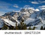 Alpine Landscape  Mount Sareis...
