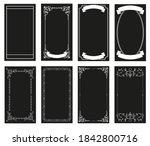 ornamental retro style frames ... | Shutterstock .eps vector #1842800716