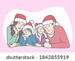 christmas or new year concept....   Shutterstock .eps vector #1842855919