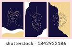 mystical illustration set in... | Shutterstock .eps vector #1842922186