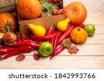 Fall Arrangement With Pumpkins...