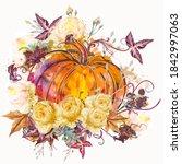 autumn vector illustration...   Shutterstock .eps vector #1842997063