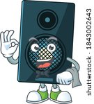 A Cartoon Image Of Sound System ...
