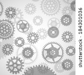 gears | Shutterstock .eps vector #184301036