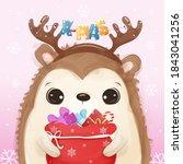 Cute Christmas Greeting Card...