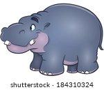 hippo | Shutterstock .eps vector #184310324