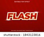flash sale  text effect... | Shutterstock .eps vector #1843123816
