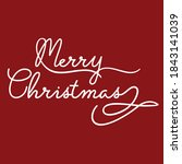 merry christmas merry christmas ...   Shutterstock .eps vector #1843141039