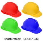 construction helmet | Shutterstock . vector #184314233