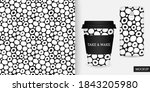 Rounded Spots Seamless Pattern. ...