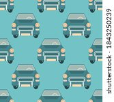 vector seamless pattern with... | Shutterstock .eps vector #1843250239