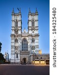 Westminster Abbey In London...