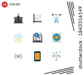 stock vector icon pack of 9...
