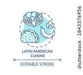 latin american cuisine concept... | Shutterstock .eps vector #1843376956