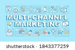 multi channel marketing word...