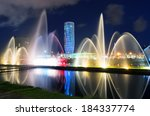 Light And Music Fountain....