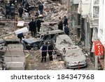 istanbul  turkey   november 15  ...   Shutterstock . vector #184347968