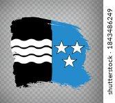 flag canton of aargau brush...