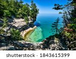 Lake Superior beach views from Michigan