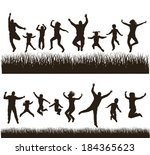 young active family . very... | Shutterstock .eps vector #184365623