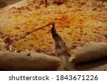 Slice Of Hot Cheese Pizza...