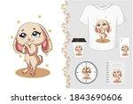 T Shirt And Merchandising Cute...