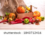 Rustic Fall Table Centerpiece...