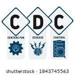 cdc   centers for disease ... | Shutterstock .eps vector #1843745563