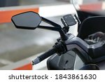 Motorcycle Mirror And Handlebar ...