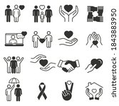 generous and sympathize icon...   Shutterstock .eps vector #1843883950