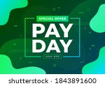 special offer payday sale... | Shutterstock .eps vector #1843891600