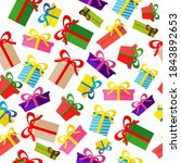 merry christmas and happy new... | Shutterstock .eps vector #1843892653