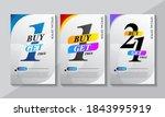 buy 1 get 1  buy 1 get 2  buy 2 ...   Shutterstock .eps vector #1843995919
