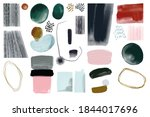 abstraction. painting....   Shutterstock . vector #1844017696