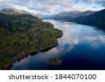 Loch Lomond Aerial View At...