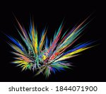 Multicolored Burst Or Firework...