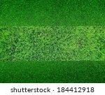 green grass background texture | Shutterstock . vector #184412918
