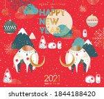 2021 Happy New Year  Merry...