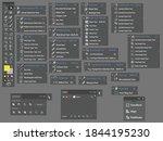 adobe illustrator  software... | Shutterstock .eps vector #1844195230