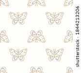 seamless background swallow... | Shutterstock .eps vector #1844213206